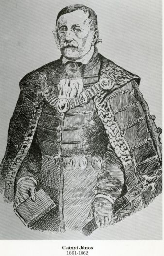 Csányi János, a város megmentője