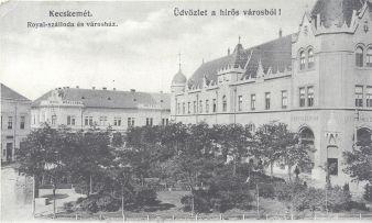 1915, amikor a Royal szálloda és a Gyenes cukrászat is a 0-s liszt nélkül maradt
